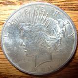 Usa Moneda Un Dolar Tipo Peace Fecha 1922 Plata Ley 0.900