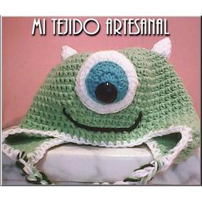 Sullivan, Mike Wazowski Y Dino Tejidos Al Crochet