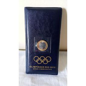 Estojo Para Coleção Completa Das Moedas De 1 Real Rio 2016