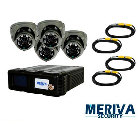 Kit Movil Meriva Mm804 Kit Dvr Md 806, 4 Camaras Modulo 3g