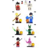 Figuras Dragon Ball Goku Compatibles Con Legos Minifigure