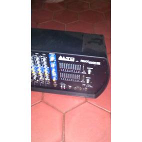 Consola Amplificada 8 Canales 2400 Rmx Alto Professional
