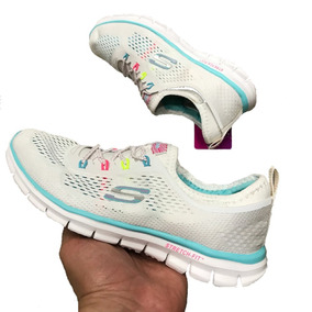 Tenis Zapatillas Skechers Stretch Fit 2018 - Mujer