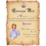 01 Convite Princesa Sofia - M