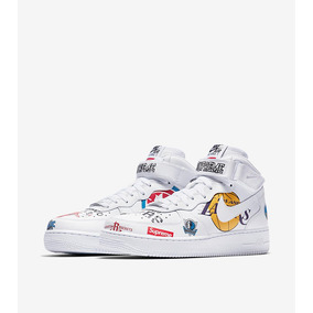 Botas Nike Air Force Ed. Especial Nba/supreme
