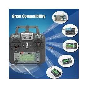 Rádio Controle/transmissor Flysky Fs-i6x+receptor Ia6b