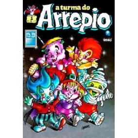 Turma Do Arrepio 01 02 03 Gibi Globo 1989