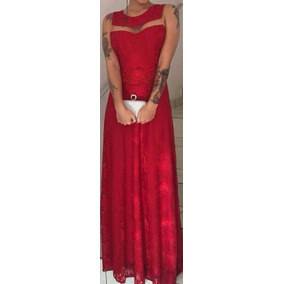 Vestido Festa Madrinha Casamento Formatura Rose Cores Lindo