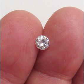 Diamante Criado 5 Mm 0,50 Ct 50 Pontos Pedra Preciosa 3401