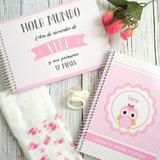 Set De Nacimiento - Cuaderno Pediatrico + Album De Recuerdo