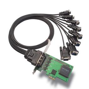 Controladora Multiserial Moxa Cp-168el Pcie 8 Portas Nexus