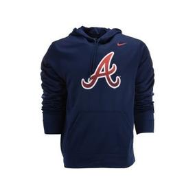 Nike Bravos De Atlanta Sudadera Ko Hoody Pullover Nva M