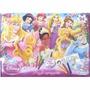 Puzzle Supergigante Princesas Bifaz De 24 Piezas Pinta Crayo