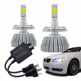 Kit Xenon Lampada Super Led Carro H1 H3 H4 H7 H8 H11 Hb3 Hb4