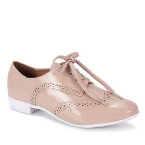 Sapato Oxford Feminino Vizzano - Bege