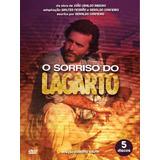 Dvd O Sorriso Do Lagarto - 5 Discos