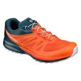 Tenis Hombre Salomon Trail Running Correr Sense Pro2 Naranja