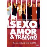 Dvd Sexo Amor & Traição - Original - Novo - Lacrado