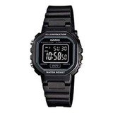 Relógio Feminino Digital Casio La-20wh-1bdf - Preto