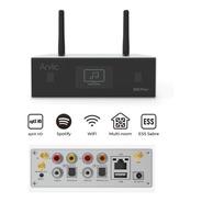 Dac Streamer Preamp Wifi Bluetooth Usb Lan Airplay Flac Wav