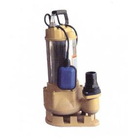 Bomba Sumergible Para Agua Sucia Shimge 1hp Wqds10-7-0.75