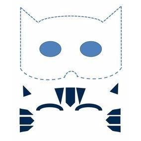 Mascara De Papel Para Recortar Catboy