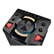 Caixa De Som Party Speaker Torre 200w Rms Bluetooth/ Usb/ Fm