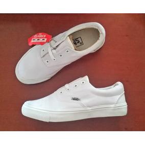 Zapatos Vans All White Del 28 Al 44 (tienda Fisica)
