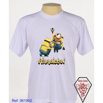 Camiseta Personalizada Minions Esportista Handebol