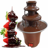 Mini Maquina Fondue Eletrica Chocolate Fondi Cascata