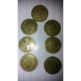 Monedas Del General Años 81 Al 89