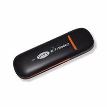 Modem E Roteador 3g Wi Fi 802.11b/g/n Micro Sd Usb2.0 Preto