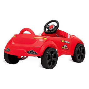 Mini Carro Infantil Passeio Com Pedal Roadster Para Menino