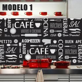 Vinilo Decorativo Laminado Mural Pared Cocina Frases Guarda