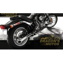 Ponteira Harley Fx Escape Cano De Descarga Preto