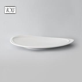 Plato De Postre De Porcelana Línea Mood - 21 Cm - Set X6