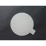 Disco Plastificado Ppm Blanco Mate D. 12 Cm Pestaña (x200u)