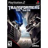 Transformers: The Game - Ps2 Patch + Encarte