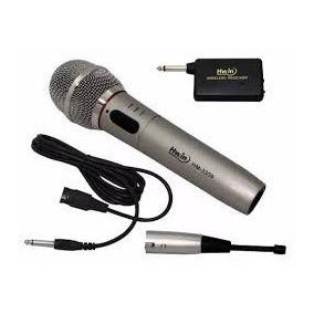 Micrófono Profesional Inalambrico/alambrico- Minitekas, Djs