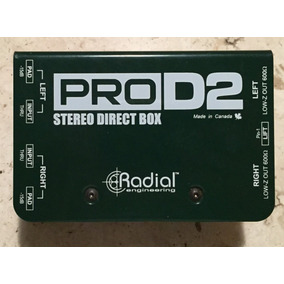 Radial Prod2 Strereo Direct Box