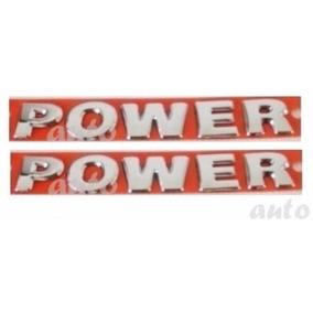 Par Emblemas Laterais Power - Gol G5 - 2009 À 2012