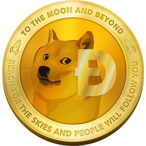 180 Dogecoin R$ 1,00 Criptomoeda Tipo Bitcoin - Etherium