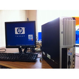 Computadora Hp Dc 5100sff + Monitor Lcd 15 Pulgadas
