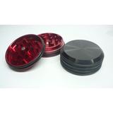Grinder En Aluminio Negro O Rojo Diámetro 5 + Obsequio