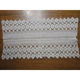 Carpetita De Hilo Tejida Al Crochet Puramente Artesanal