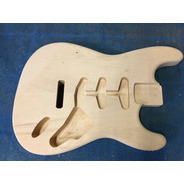 Corpo Guitarra Modelo Strato Em Marupá