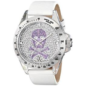 Toy Watch Unisex S03whos Analog Display Quartz White Watch