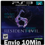Residentevil 6 - Ps3 - Psn - Playstation 3 Português Pt Br