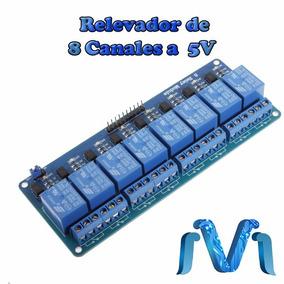 Modulo De Relevadores De 8 Canales 5v Relay Relevador