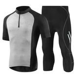 Jersey Ciclismo 4d Pantalones Cortos Acolchado Ropa Hombres